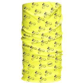 HAD Originals Bike Scaldacollo tubolare, bike fluo yellow